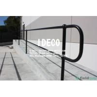 China Aluminum Ball Tube Handrails, Aluminium Ball Joint Fence Stanchions, Ball Joint Stair Hand Railings on sale