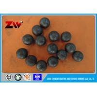 Quality Forged grinding steel ball , ball mill grinding balls B2 HRC-58-64 Diameter 80mm for sale