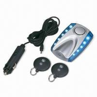 Quality Wireless Remote Car Alarm with Car Finder Function, Working Voltage 9 to 16V for sale
