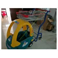 Quality Child Size Children Shopping Carts Mall Toy Cart Kids Shopping Trolley for sale