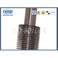 China Steel Hot Water Boiler Fin Tube , High Efficiency Spiral Finned Tube on sale