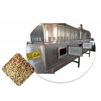 Quality Belt Type Food Sterilization Equipment Microwave Insect Drying Sterilization Machine for sale