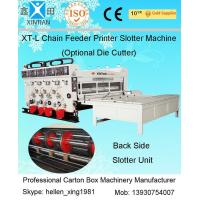 Semi Automatic Corrugated Box Making Machine 4 Color Carton