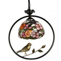 Quality Dale tiffany hanging lamps with Bird Cage Pendant lamp (WH-TF-06) for sale