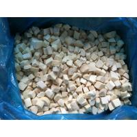 Quality 2*2cm IQF Mushrooms , Frozen Cultivated Pleurotus Eryngii Quarter Cut for sale