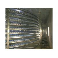 China Quick Freezing Cold Room Freezer Conveyor Chamber Industrial Freezer Room on sale