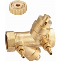 Quality DN25 DN32 Magnetic Lockable Valve With Stemhead Round Patterned And Bottom for sale