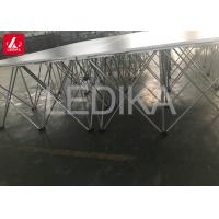 Buy cheap Aluminum Mobile 3'x3' Modular Portable Folding Pop Up Stage for Hotel from wholesalers