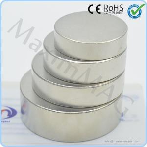 Quality Big round neodymium magnets for sale