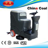 Quality High efficient ride on floor cleaner scrubber for sale