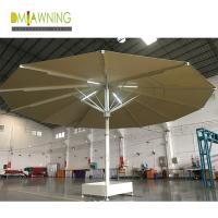 Quality Strongwind Giant Umbrellas  Extra Large Patio Umbrellas Large Outdoor Umbrellas with LED Lights 7m large umbrella for sale