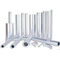 China 6082 Aluminum Rectangular Tubing , Industrial Moulding Thick Wall Aluminum Tubing on sale