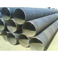 Quality API 5L grade B length 12m carbon steel welded round water pipeine for sale