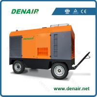 Quality portable screw diesel air compressor for sale