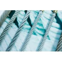 China good quality round strand galvanized steel wire rope 6*61+FC 6*61+IWR on sale