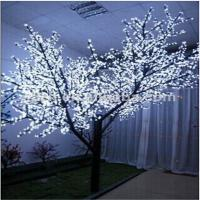 Quality white indoor art decoration bonsai artificial cherry tree for sale