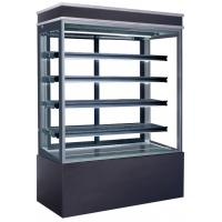 Quality 960L Refrigerated Cake Display Cabinets Full LED Light For Each Deck with 1500mm Length and Four-layers Shelves for sale