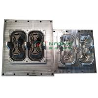 Quality Die Casting 2 Packed Cup Carrier / Cup Holder Pulp Moulding Dies for sale