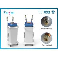 Quality 5MHz Thermagic RF microneedle machine two handles for any skin treatment for sale