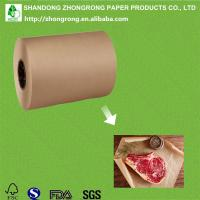 Quality poly coated brown kraft paper butcher paper rolls for sale