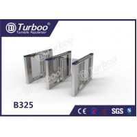 Quality Office Security Swing Electronic Turnstile Barrier Gate RFID Card Reader for sale
