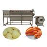 Buy cheap Brush Type Carrot Potato Peeler Carrot Polishing Machine For Sale from wholesalers
