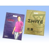 China Retail Large Sealable Plastic T Shirt Bags, Recycled Plastic Bag Packaging on sale