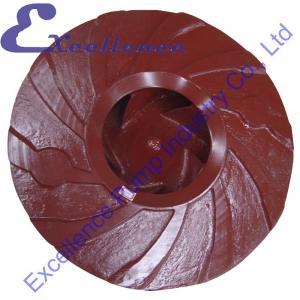 Quality Anti-Abrasive Abrasion Resistant Mining Slurry Pump Impeller Equipment for sale
