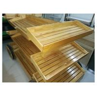 Buy 3 Layers Wood Storage Shelves at wholesale prices