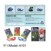 China golf ball liner marker,ABS ball liner marker,golf accessories A101 on sale