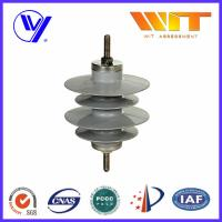 Quality 9KV Gapless Metal Oxide Surge Arrester Polymer Self - Standing with KEMA Certified for sale