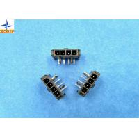 Buy 3.00mm Pitch Wire To Wire Connector Right Angle Header with Snap-in PCB Lock at wholesale prices