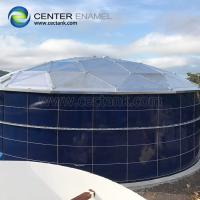 Quality Anti - Corrosion Enamel Bolted Steel Rainwater Colleciton Tanks For Farming Irrigation for sale