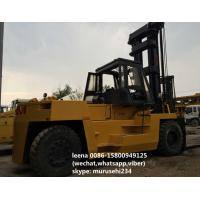 Quality 2 Stages Used Tcm Diesel Operated Forklift FD250 Isuzu Engine Ce Passed for sale