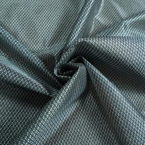 Quality Black Striped Plaid 43D Jacquard Mattress Fabric  High Strength for sale