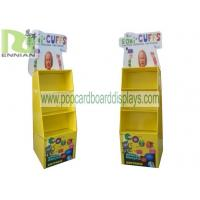 China Cuff Retail Cardboard Floor Display Pos Paper Purchase Display Racks on sale