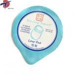 Quality yogurt cup aluminium foil lid, aluminum foil lids for yogurt/ diary products packaging for sale