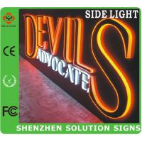 Quality led edge lit acrylic sign for sale
