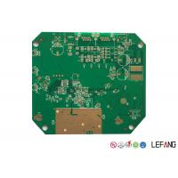 ENIG Surface Finish Gps Tracker PCB , Immersion Gold Fr4