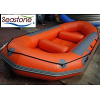 Quality Commercial White Water Rafting Boat Self Draining Customized Color Heavy Duty for sale