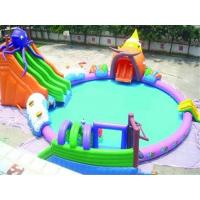 China High Quality PVC Tarpaulin Strong and Durable Inflatable Octopus Water Park On Sale on sale