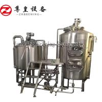 Quality SUS304 Craft Beer Equipment High Speed 300L Capacity With Plate Heat Exchanger for sale