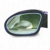 Quality European Style Car Mirror, Available with Shock Absorbing Flexible Spring Fixing Design for sale