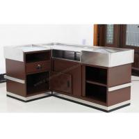 Buy cheap Modern Shop Cash Counter Metal Unfolding Checkout Stand OEM ISO9001 from wholesalers