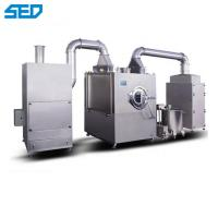 China Water - Soluble Film Candy Tablet Coating Machine With Pharmaceutical Machinery on sale