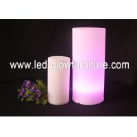 Quality Color Changed Glowing LED Pillars / Roman Columns For Wedding and Party  Decoration for sale