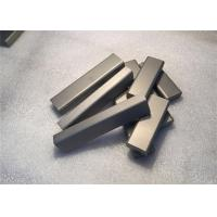 Quality Hip Sintered Tungsten Carbide Stock High Flexural Strength Excellent Toughness for sale