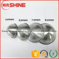 Quality factory direct supply 304 stainless steel bathroom accessories bath bomb mold 85mm 75mm 45mm 65mm for sale