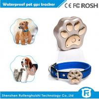 Quality RF-V30 waterproof IP66 mini pet gps tracker for dog with collar for sale