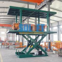 Quality Double Deck Car Parking System With 3 T Weight Capacity 2.8m Lifting Height for sale